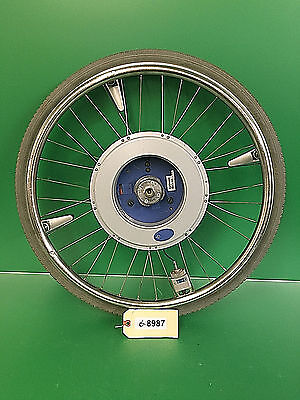 """Alber E-MOTION M12 24"""" Power Assist Wheel - No Charger No Battery Untested #8987"""