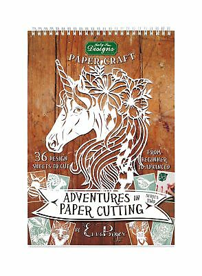 Emma Boyes Template Craft Pad Book - Adventures in Paper Cutting Series 2
