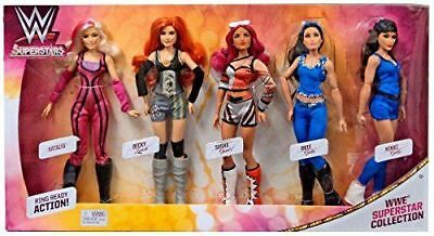 Wwe Superstars Fashion Dolls Collection 5-Pack