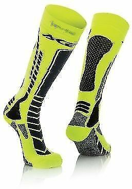 Acerbis 8-10 UK Adult Knee Length Thick Socks Motocross Enduro Trials RMZ RM DRZ