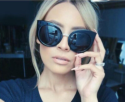 Fashion Cat Eye Sunglasses Womens Outdoor Eyewear New Oversize Polarized Glasses