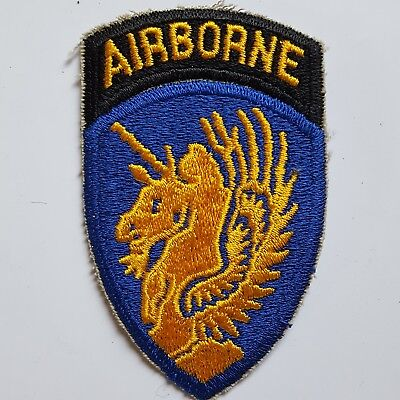 U.s. Army 13Th Airborne Division Ww2 Repro Color Aufnäher Patch