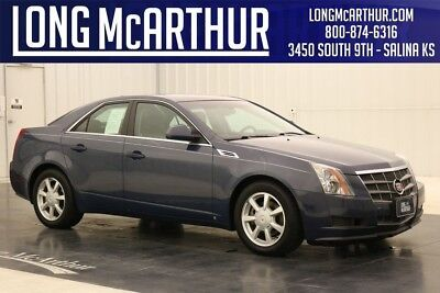 Cadillac CTS CTS 3.6L V6 6 SPEED AUTOMATIC SUNROOF LEATHER SEDAN JUST UNDER 80,000 MILES! OVER 300 HORSEPOWER AND DYNAMIC STABILITY CONTROL!