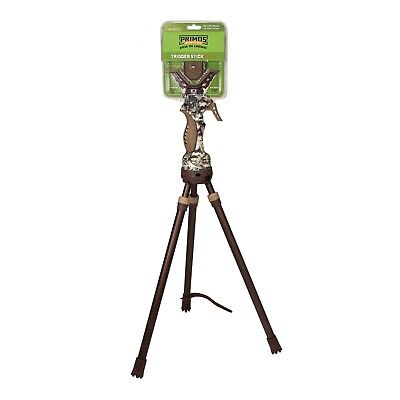 "Primos Jim Shockey Short Tripod Gen 3 Trigger Stick Gun Rest 18"" - 38"" - 65812"