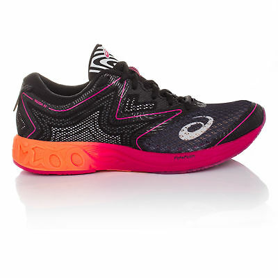 Asics Gel-Noosa FF Womens Black Cushioned Running Sports Shoes Trainers