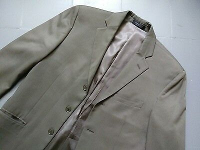 Andrew Fezza Lt Olive Green Mens Blazer Sport Coat Suit Jacket 36R  P10