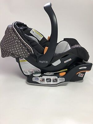 CHICCO Keyfit 30 infant car seat & Base, Lilla Exp 12/2021 and 02/22 No accident
