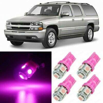 12 X Ultra Pink Interior LED Lights Package For 2000   2006 Chevy Suburban  +TOOL