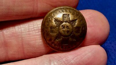 Old Military Button - Worn - Maybe Someone Will Know