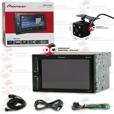 "Pioneer Mvh-210Ex 6.2"" Digital Media Bluetooth Stereo Free 170° Backup Camera"