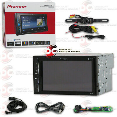 "Pioneer Mvh-210Ex 6.2"" Digital Media Bluetooth Stereo Free Licenseplate Camera"