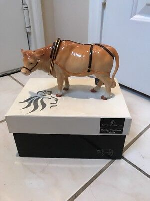 Nativity Oxen Royal Doulton Holiday Traditions Nativity Poreclain Figurine