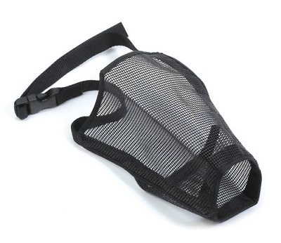 ANCOL Soft Dog Comfortable Breathable Mesh Muzzle (Available in all sizes)
