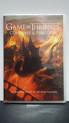 ** Game of Thrones: Conquest & Rebellion (DVD) - Sophie Turner - Free Shipping!