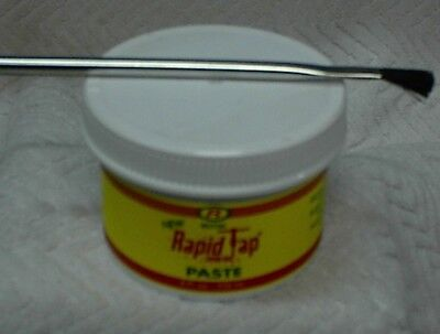 Brand New Relton Rapid Tap Metal Cutting and Drilling Paste 8 oz Jar