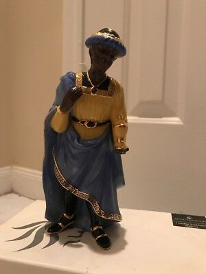 Nativity Balthazar Royal Doulton Holiday Traditions Nativity Poreclain Figurine