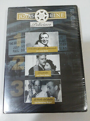 Jewelry Cinema Police Dvd 15 The Man Who Knew Too Much Mocking Devil New