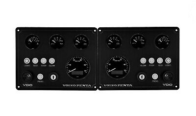 volvo penta boat  instrument panel