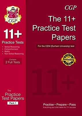11 Practice Papers for the CEM Test - Pack 1 CGP 11 CEM