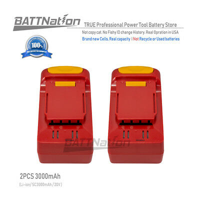 2x 20V Li-ion 3.0AH Battery for Craftsman 28102 20-Volt Cordless Circular Saw