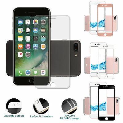 For Apple iPhone Phones Edge Curved Full Glass Tempered 3D Screen Protector G5#