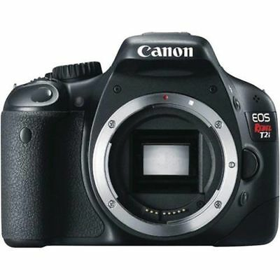 Canon EOS Rebel T2i EOS 550D 18.0MP Digital SLR Camera Black Body Only 4462B001