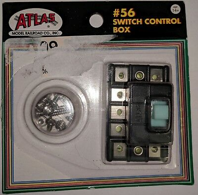 Atlas HO Scale Switch Control Box #56