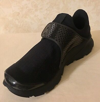 huge discount 1d929 b134c MEN NIKE SOCK Dart Athletic/lifestyle Shoes Sneakers All Black 819686-001
