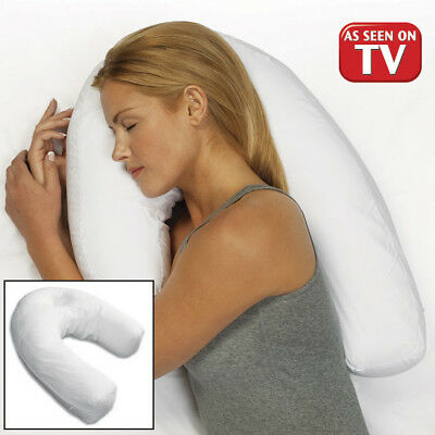 Side Sleeping Pillow Therapeutic Hypoallergenic Neck & Back Sleeper Pro