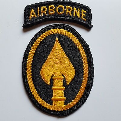 U.s. Army Element Special Operations Command Socom Color Aufnäher Patch
