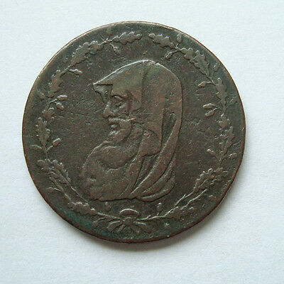 TOKEN.... 1788..... Great Britain... Welsh CONDER Anglesey 1/2 Penny .... Druid