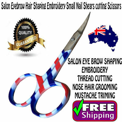 MANICUR Salon Eyebrow Hair Shaping Embroidery Small Nail Shears cutting Scissors
