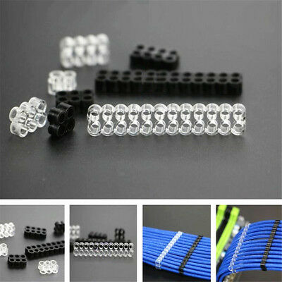 1/5PCS Close Cable Comb / Dresser F 18AWG Wire PSU Cables Sleeved Extension lot