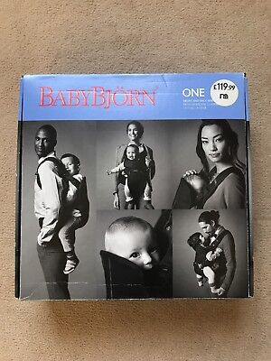 Baby Bjorn Baby Carrier One Boxed with manual