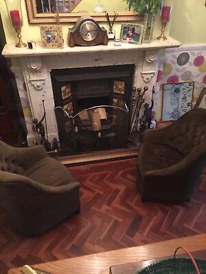 Pair Of Vintage Armchairs