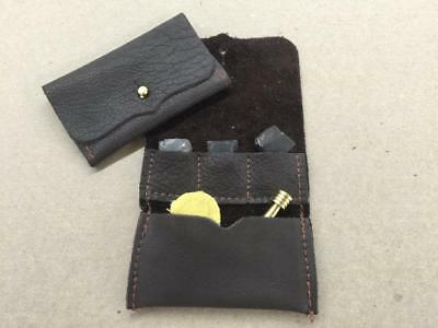 Muzzleloader Leather Tool Pouch - by The Leatherman