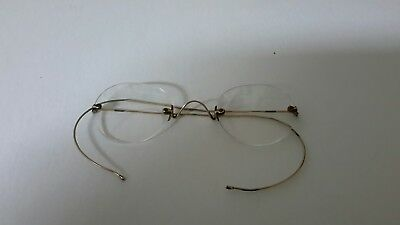 Antique Rimless Glasses