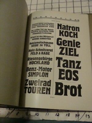 Original Vintage 1920's TYPEFACE CATALOG -- H BERTHOLD -- 100+ pages, DESIGN #2