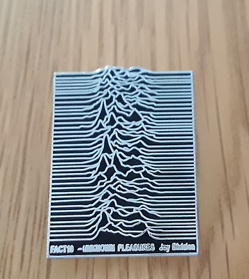 Joy Division UNKNOWN PLEASURES Badge Factory Records Ian Curtis Warsaw New Order