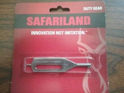 SAFARILAND Stainless Steel Tactical Slotted Single HANDCUFF Key New! HK-10