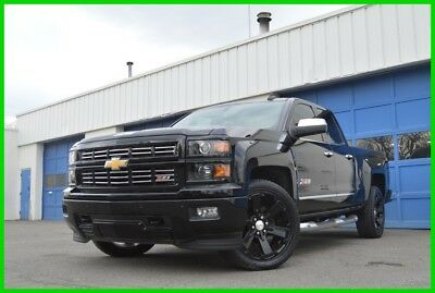 "Chevrolet Silverado 1500 2LZ LTZ Z71 Factory 22"" Black Wheels Nav Leather Power Everything BOSE Audio Spray In Liner"