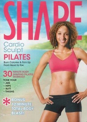 Shape Cardio Sculpt Pilates Dvd Lizbeth Garcia New Shape Up From Head To Toe