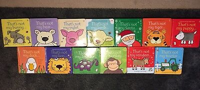 13 x That's Not My Books Bundle Usborne Touchy-Feely Books Pre Owned