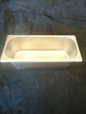 Ice Cream & Gelato 5 Liter (5L) Display Case Pan *New!*  Stainless Steel