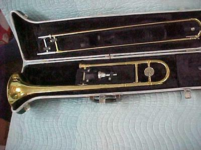 Vintage BUNDY Trombone in Very Good Used and Playing Condition!