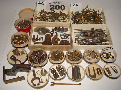 Clock Parts Job Lot WYSIWYG Clockmakers Steampunk Altered Arts Crafts Lot 200