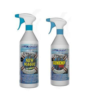 Kit d'entretien Semi Rigide Blue Marine New Magic + Gumemp100