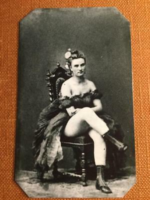Wild West Soiled Dove prostitute  Historical RP tintype C368RP