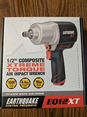 "Earthquake EQ12XT 1/2"" Composite Xtreme Torque Air Impac ""new"""