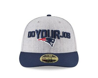 cc85d43e7bb605 New England Patriots New Era NFL Draft On-Stage Low Profile 59FIFTY Hat
